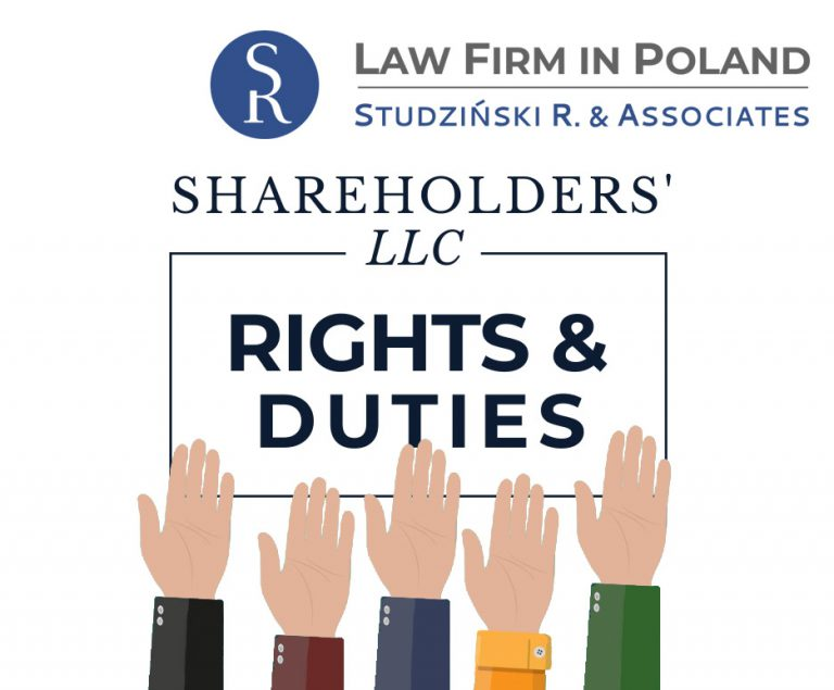 Rights and obligations of shareholders in the Limited Liability Company in Poland