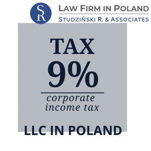 9% Corporate Income Tax – company in Poland