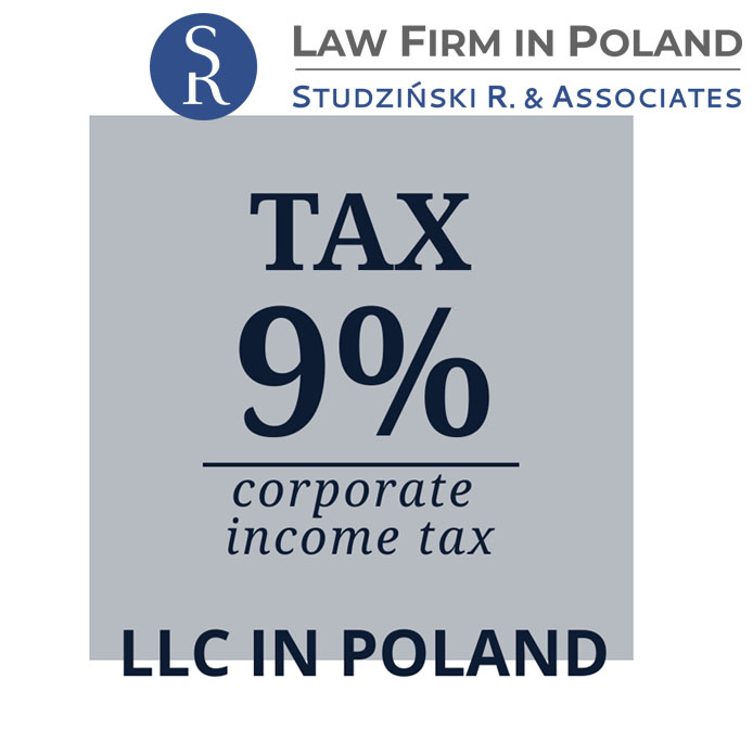 9% Corporate Income Tax – company in Poland