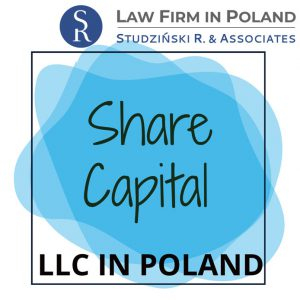 Share capital of Limited Liability Company in Poland