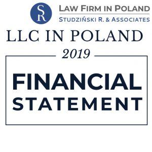 Financial Statement 2019 – Company in Poland
