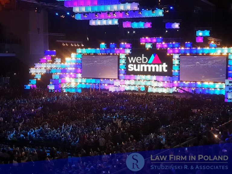 Law Firm in Poland coming to Web Summit 2019