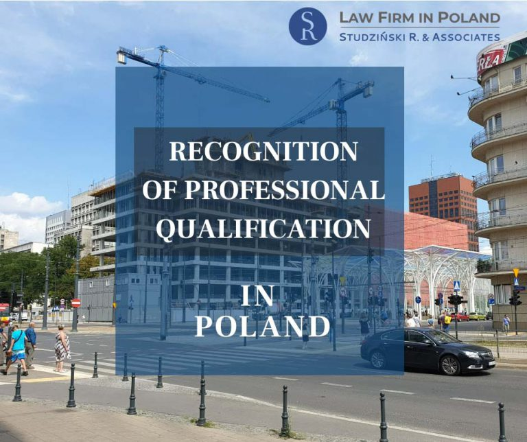 Recognition of qualification in Poland
