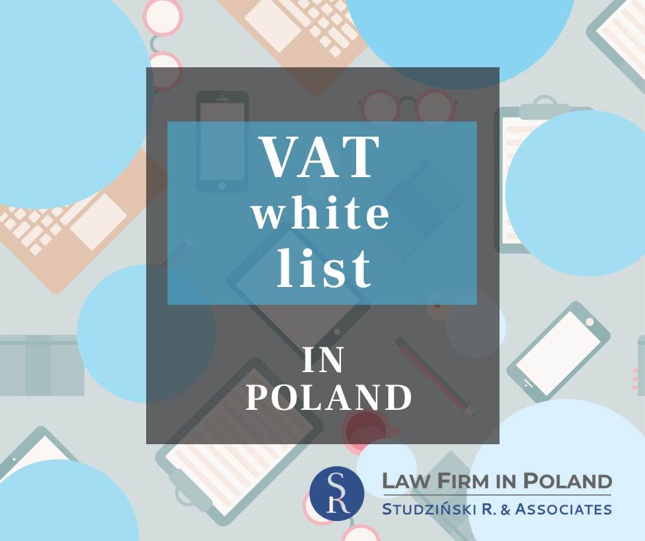 White list of VAT in Poland